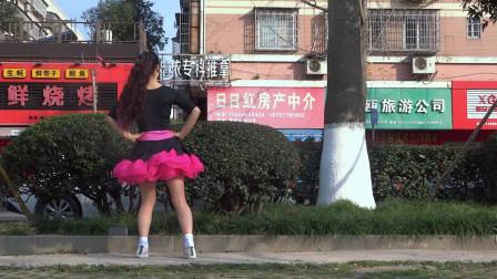 永东玲子广场舞 桃花运