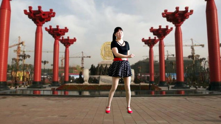 阿真广场舞 简单欢快广场舞 美丽的遇见 动作时尚大方 好听好看