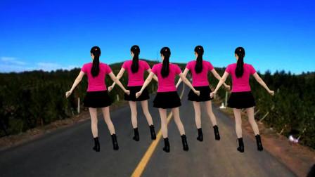 零基础32步广场舞 情路弯弯 动感时尚简单易学!