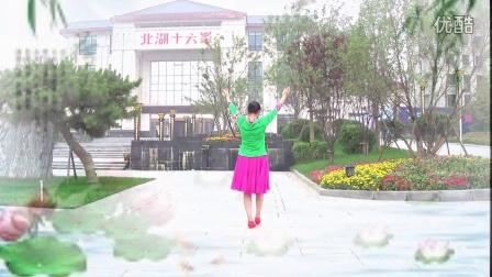 红领巾梦之湖广场舞 在水伊方 习舞 小倩