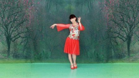 微妙广场舞 花语 附分解动作及背面演示
