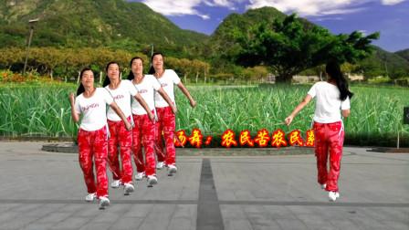 小慧广场舞 农民苦农民累 句句道出农民的心声 唱到农民的心里