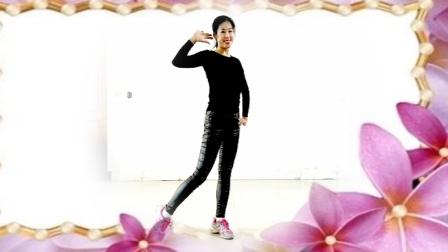 简单瘦腰健身操DJ 放歌走天涯 阿采广场舞原创 有教学背面275