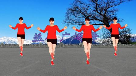 益馨广场舞 大众健身广场舞 爱是你给的毒 时尚又简单 附分解