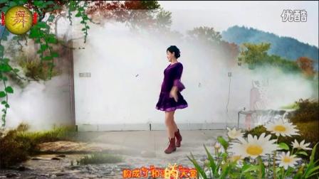 湖北民歌 中国有个小地方 阿采广场舞83 含分解和背面演示