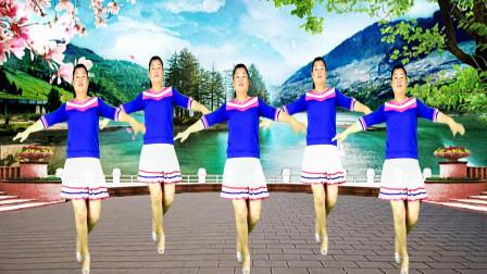 时尚健身广场舞 梅花泪 自由舞步32步 这支舞曲适合中老年人