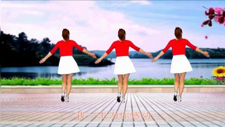 玫香广场舞 一生为你感动 祁隆经典老歌 好听好看又简单