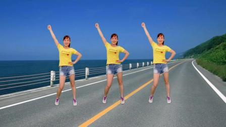 玫香广场舞 广场舞 自由步 64步简单易学 动感旋律