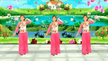 好听 好看 三月桃花红 32步广场舞 一看就会 玫香广场舞