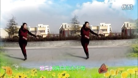 小慧广场舞 歌在飞 编舞 惠汝