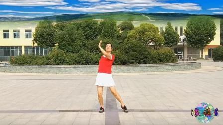 小慧广场舞 好汉歌 歌声大气恢弘 顿生英雄胆 舞姿飒爽好看