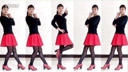 华美舞动广场舞原创 唐僧也疯狂dj 32步简单步子舞