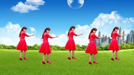 玫香广场舞原创抒情32步 天在下雨我在想你 附口令教学
