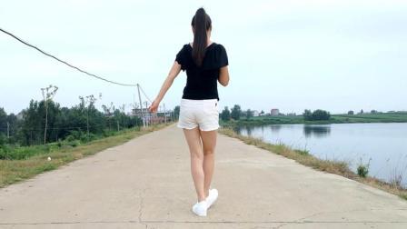 华美舞动广场舞 前面那个姑娘 简单8步广场舞