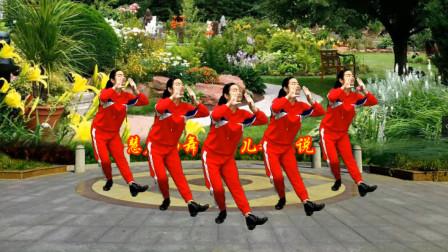 小慧广场舞 鸟儿对花说 它也爱唱情歌 网红优美16步附教学
