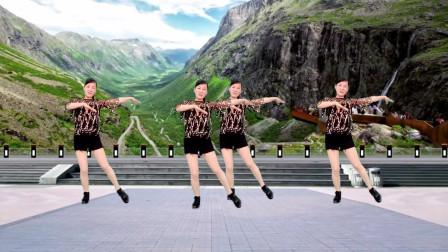 玫香广场舞 原创32步 爱江山更爱美人 附教学