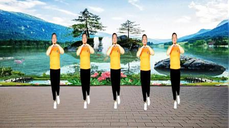 广场舞 中国红 祝伟大的祖国繁荣昌盛 送给您欣赏