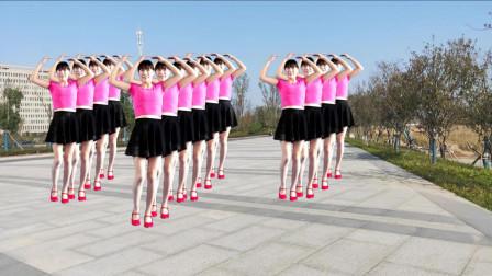 阿真广场舞 全民健身小苹果 广场舞 简单欢快舞步 轻松学会