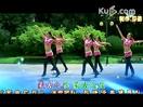 广场舞蒙古之花(附歌词字幕)黎塘廖弟广场舞