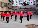 广场舞《今夜舞起来》小区院内舞队表演视频