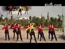 格格广场舞荷塘月色 16步 正反面视频