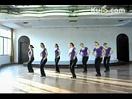紫蝶踏歌广场舞 洗衣歌 团体室内健身舞蹈表演