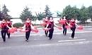 中老年健身扇子舞 开门红 沣润河园广场舞