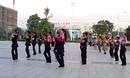 长沙中信舞蹈队广场舞《桃花运》覃华老师领舞