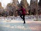 权汀汀广场舞 藏舞《洗衣歌》单人背面动作演示