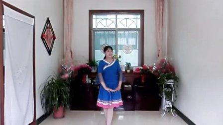 三原县北城社区友缘广场舞康巴情歌、编舞:応子、张春丽