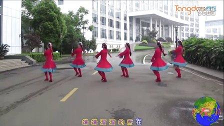 抚州左岸风情广场舞 康巴情 编舞:応子