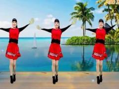 乔茜广场舞 《桃花姑娘》 水兵舞 含背面动作分解教学