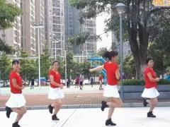 可爱妈妈广场舞《你不来我不老》集体版 子青 编舞