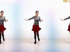 金灿灿广场舞 《美丽的遇见》 单人水兵舞 含背面动作分解教学
