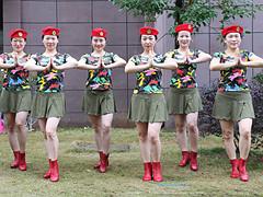 杨丽萍广场舞 《美丽的遇见》 单人水兵舞 含背面动作分解教学