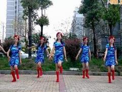 乔茜广场舞 《美丽的遇见》 水兵舞风格 含背面动作分解教学
