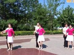 香儿广场舞 《美丽的遇见》 双人中四 含背面动作分解教学